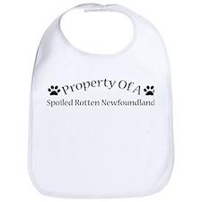 Spoiled Rotten Newfie Bib