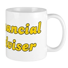 Retro Financial a.. (Gold) Mug