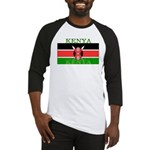 Kenya Kenyan Flag Baseball Jersey