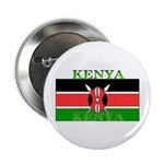 Kenya Kenyan Flag Button