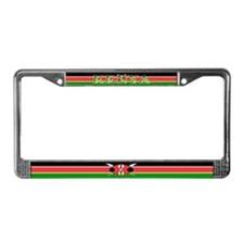 Kenya Kenyan Flag License Plate Frame