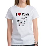 I Love Cows Tee