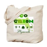 Go Green Plymouth Reusable Tote Bag