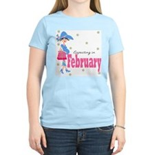 Expecting in February T-Shirt