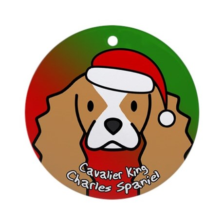 Anime Gifts > Anime Seasonal > Cartoon Cavalier King Charles Christmas