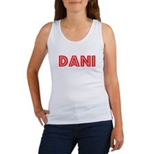 Retro Dani (Red) Women's Tank Top