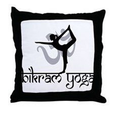Bikram Yoga Throw Pillow