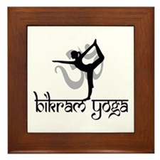 Bikram Yoga Framed Tile