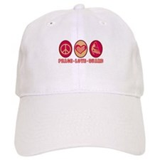PEACE - LOVE - GUARD Baseball Cap