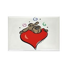Dog Lover Rectangle Magnet (10 pack)