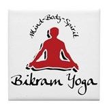Bikram Yoga Tile Coaster