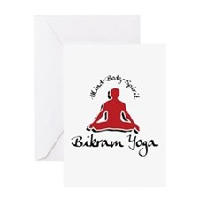 Bikram Yoga Greeting Card