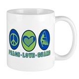 PEACE - LOVE - GUARD Small Mug