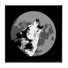 Howlin' Wolf Tile Coaster