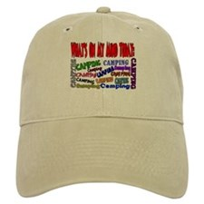 What's on my mind: Camping Baseball Cap