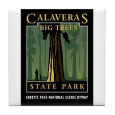Calaveras Big Trees - Tile Coaster