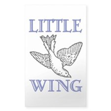 LITTLE WING Rectangle Decal