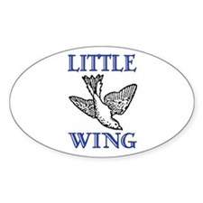 LITTLE WING Oval Decal