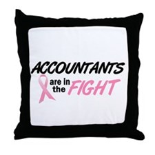 Accountants In The Fight Throw Pillow
