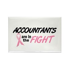 Accountants In The Fight Rectangle Magnet (10 pack