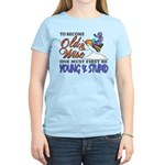 Old & Wise = Young & Stupid Women's Light T-Shirt