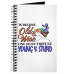 Old & Wise = Young & Stupid Journal