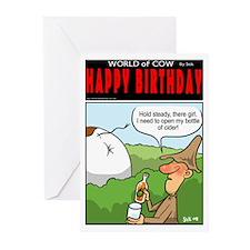 Bottle opener. Greeting Cards (Pk of 10)