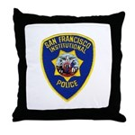 SF Institutional PD Throw Pillow