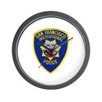 SF Institutional PD Wall Clock