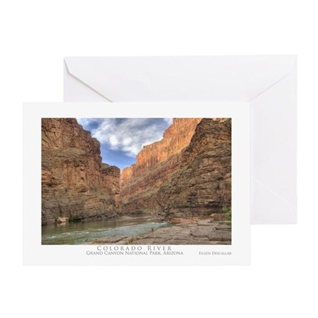 Grand Canyon/Colorado River Greeting Card