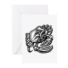 Cancer the Crab Greeting Cards (Pk of 10)