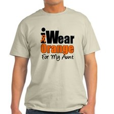 Leukemia Aunt T-Shirt