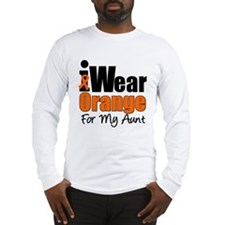 Leukemia Aunt Long Sleeve T-Shirt
