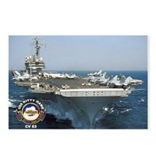 USS Kitty Hawk CV-63 Postcards (Package of 8)