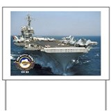 USS Kitty Hawk CV-63 Yard Sign