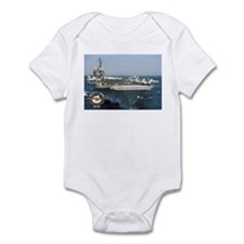 USS Kitty Hawk CV-63 Infant Bodysuit