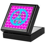 Peace Symbol Keepsake Box