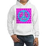Peace Symbol Hooded Sweatshirt