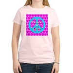 Peace Symbol Women's Light T-Shirt