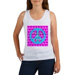 Peace Symbol Women's Tank Top