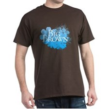 Big Brown Flowers T-Shirt