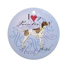 Pointer Ornament (Round)