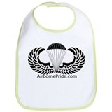 Cute Paratrooper Bib
