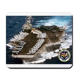 USS John F. Kennedy CV-67 Mousepad