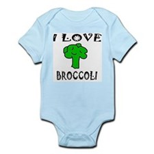 I Love Broccoli Infant Creeper