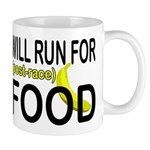 Will Run For Food Mug