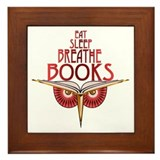 Eat Sleep Framed Tile
