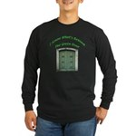 The Green Door Long Sleeve Dark T-Shirt