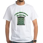 The Green Door White T-Shirt