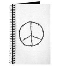 Barbed Wire Peace Sign Journal